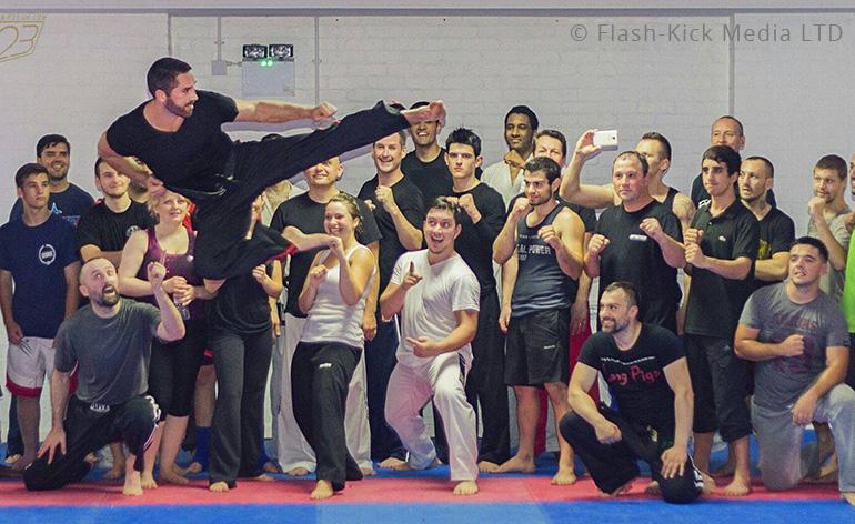 Scott Adkins Power-Kicking Seminar Competition - Kung-Fu Kingdom