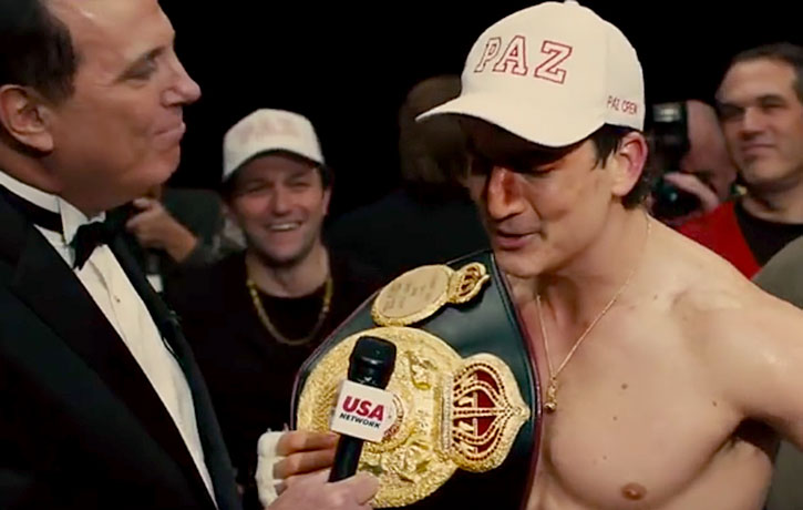 Vinny Paz with Championship belt