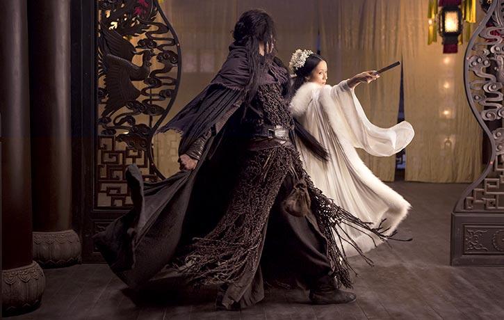 3D tricks are evident in a Jianshu style fight with Mu Yung Chiu Ti