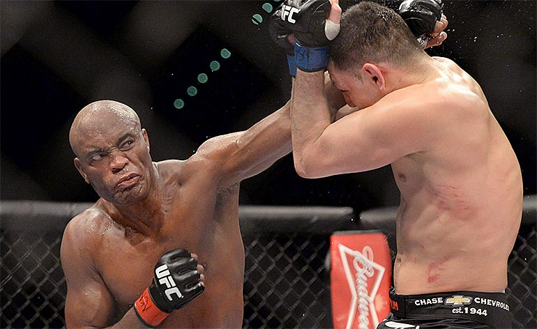 Top 5 MMA Knockouts Anderson Silva 770x472
