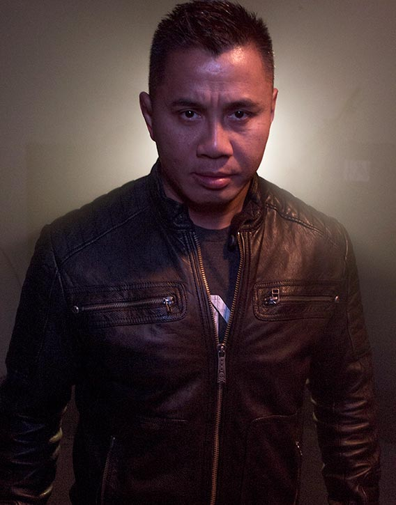 Cung Le means business!