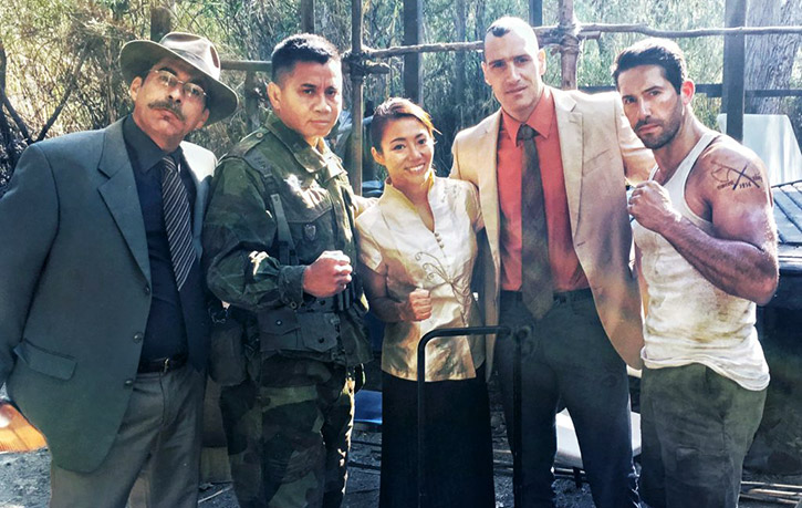 Cung alongside Scott Adkins Juju Chan and Marko Zaror for Savage Dog