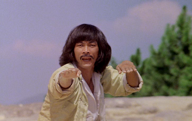 Kicking legend Hwang Jang lee stars as Thunderleg