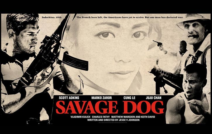 Watch out for Cung Le in Savage Dog alongside Scott Adkins Marko Zaror and Juju Chan