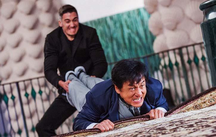 Kung Fu Karpet Jackie up to his old tricks