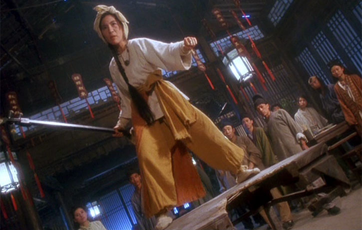Michelle Yeoh stars as Falling Snow a Lute playing kung fu fighter