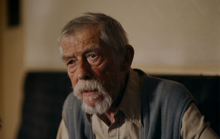 Sir John Hurt in his final big screen role