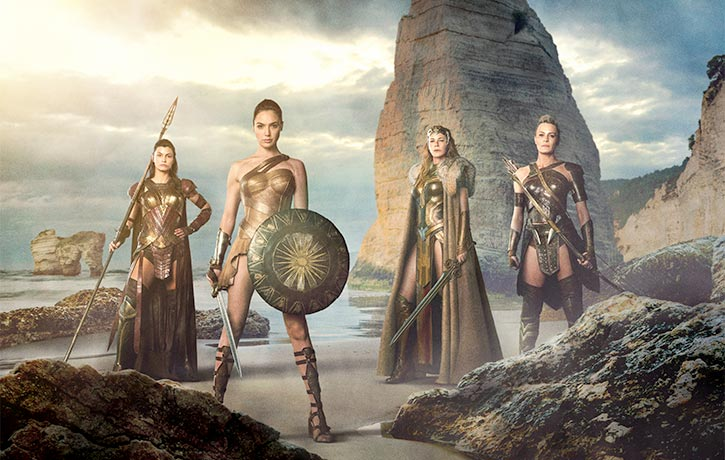 The Amazons always stand their ground