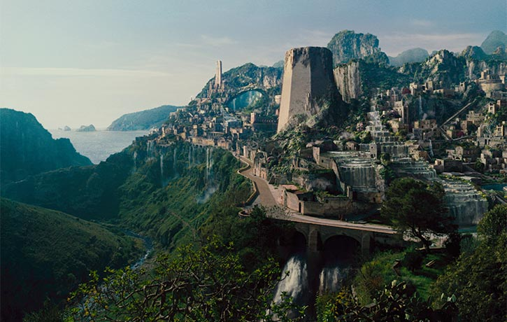 Themyscira Home of the Amazons