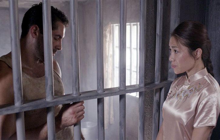 Tillman falls in love from behind bars