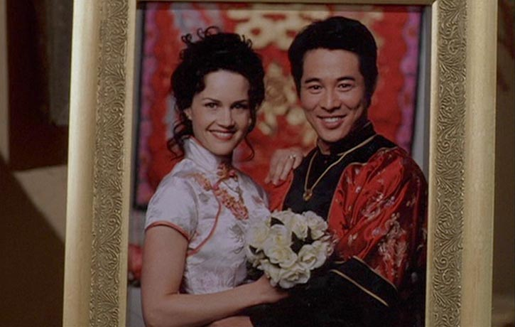 Carla Gugino plays Gabriels wife TK