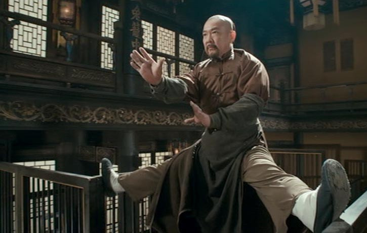 Master Li Uncle Biao maintains his balance