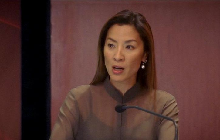 The Directors Cut features Michelle Yeoh