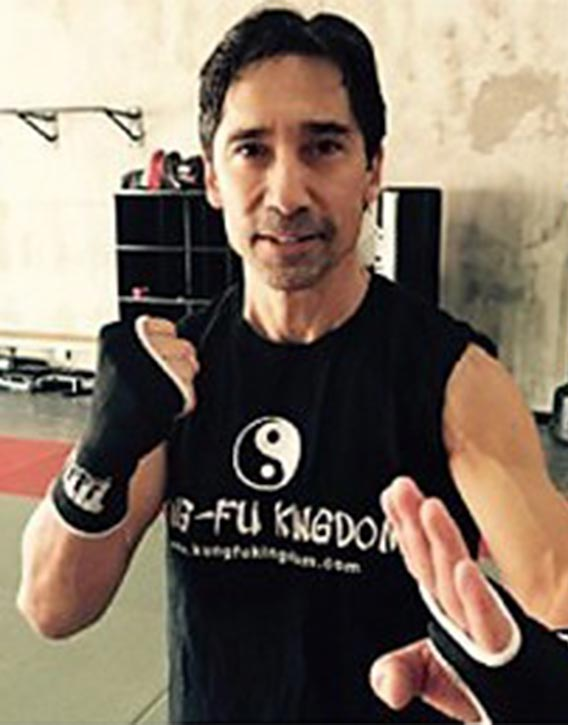 Keith Cook features in Kung Fu Kingdom's Hall of Fame