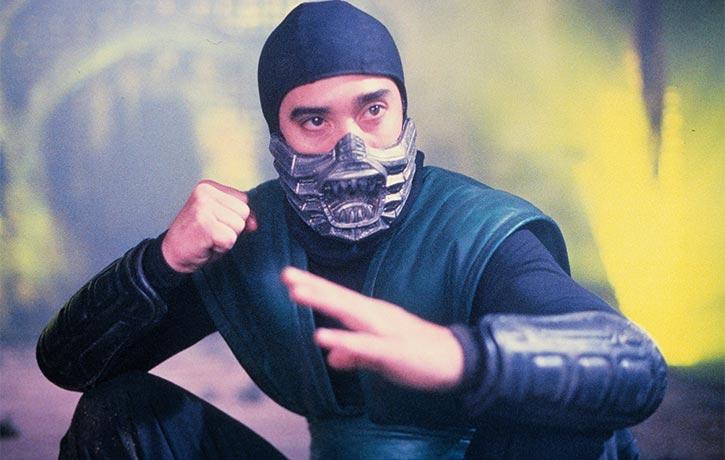 Keith Cooke as Reptile in Mortal Kombat