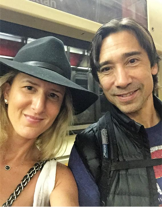 Keith Cooke & wife Justine