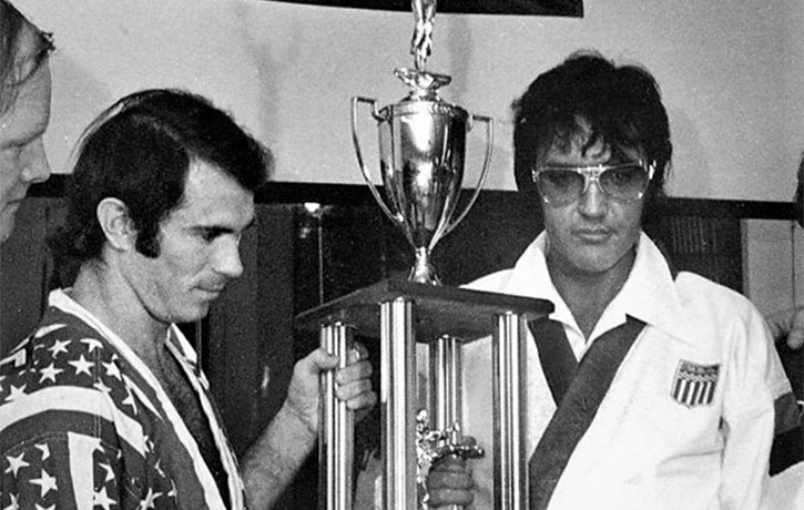 Bill Wallace trained pop icon Elvis Presley