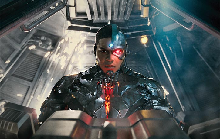 Cyborg is one with Batmans tech