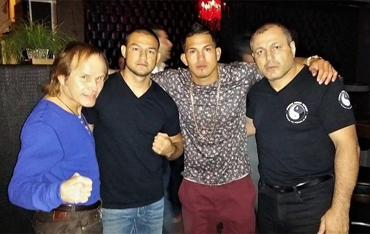 Gokors friends include kickboxing legend Benny The Jet Urquidez