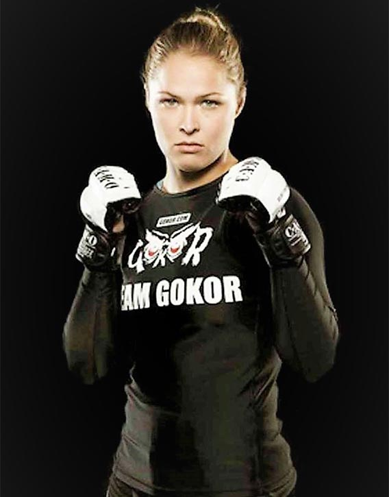 Gokors most well known student Ronda Rousey