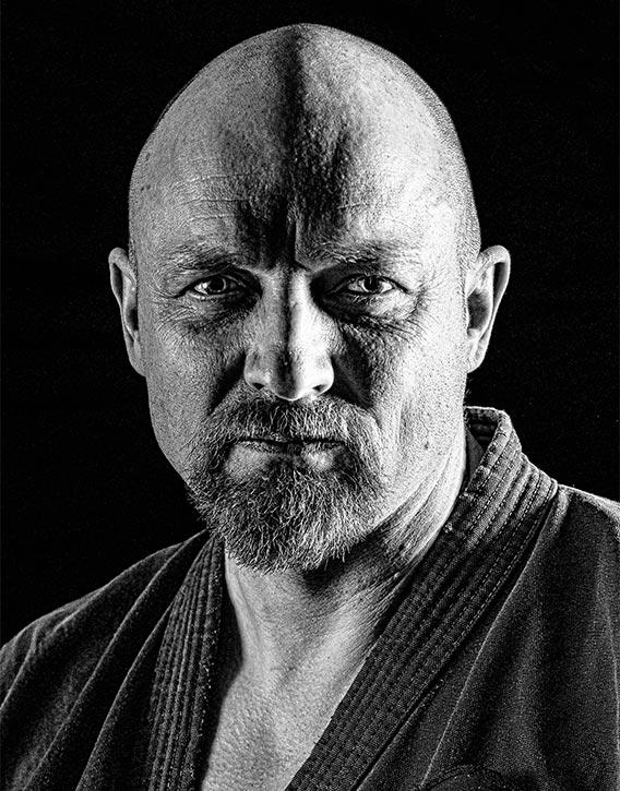 Shihan Gavin Mulholland co founder Daigaku Karate Kai