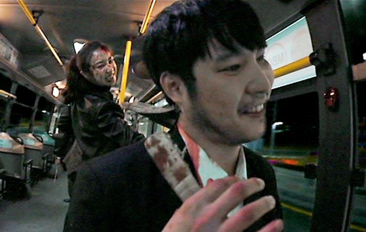 Sook-hee pinning down the adversary