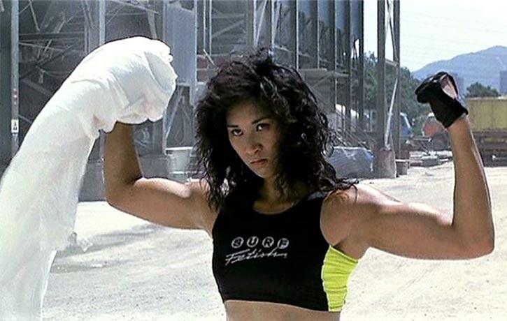 The muscular Agnes Aurelio