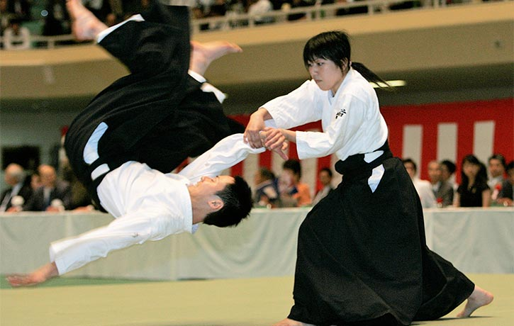 Aikido can leverage some major torque
