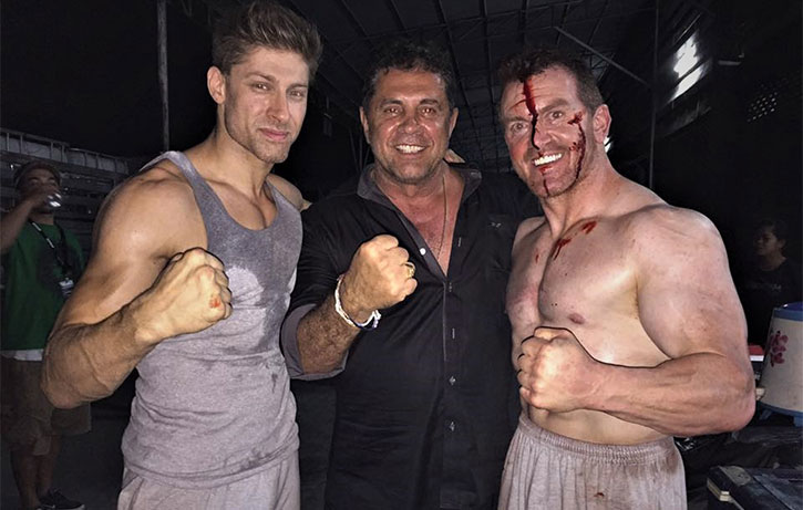 Alain and co are determined to blow you away with Kickboxer Retaliation