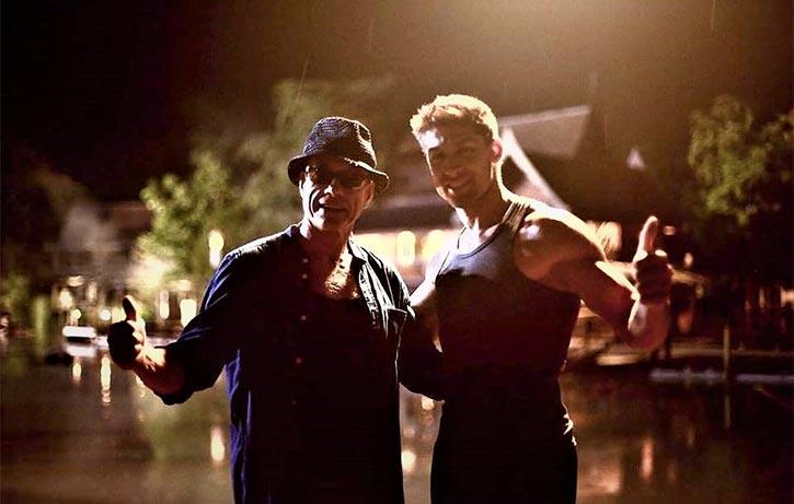 For Kickboxer Retaliation Dimitri gets to direct the original Nuk Soo Kow Jean Claude Van Damme