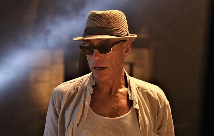Jean Claude Van Damme plays mentor Durand