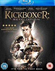 Kickboxer Retaliation Blu-ray box