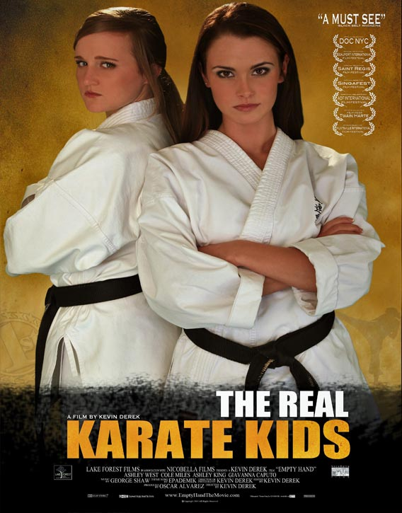 Poster for Empty Hand The Real Karate Kids