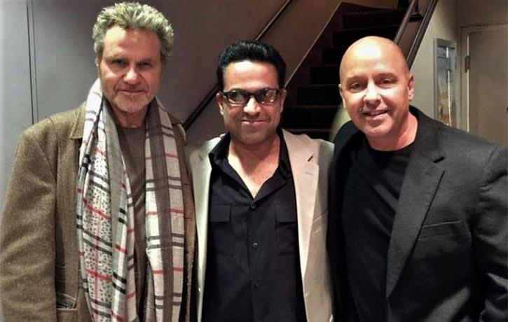 With Martin Kove Ron Thomas