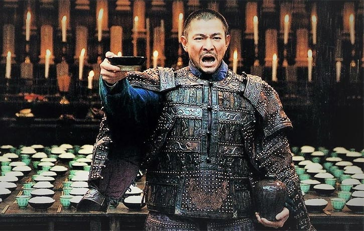 Andy Lau does a toast worthy job