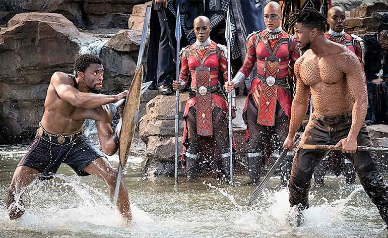 Black Panther 2018 Kung Fu Kingdom 770x472