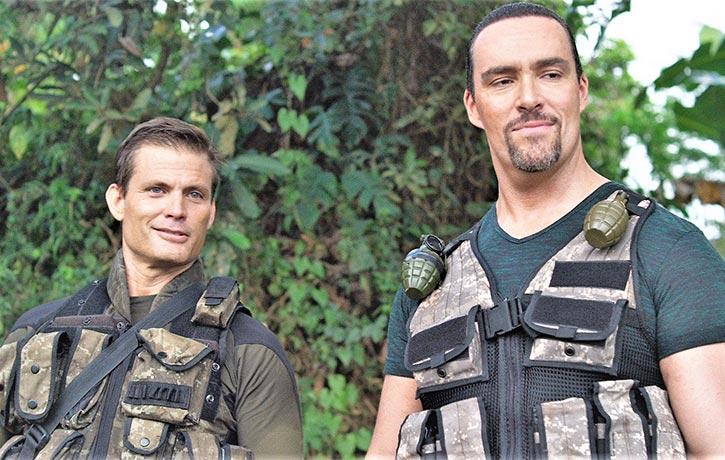 Casper teams up with Russias Arnold Schwarzenegger Alexander Nevsky in Showdown in Manila