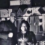 Marrese drops in for the premiere of Black Panther