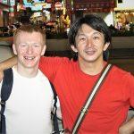 Mike worked with Donnie Yen stunt team coordinator Kenji Tanigaki