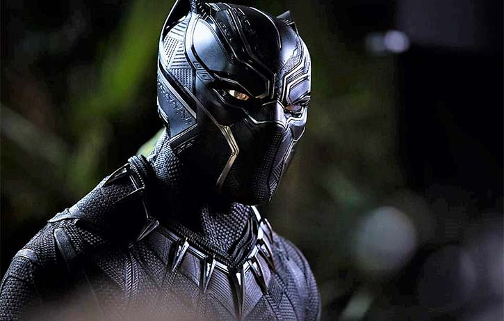 TChalla is ready to defend his people as the Black Panther