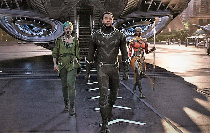 TChalla returns to Wakanda from his latest mission