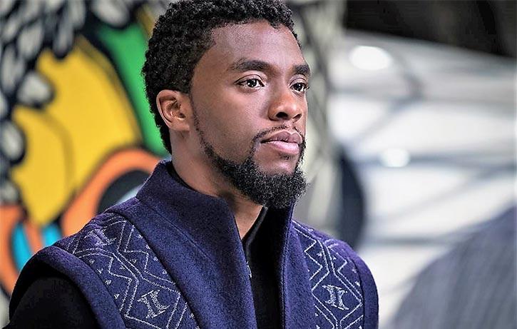 TChalla takes his throne as King of Wakanda