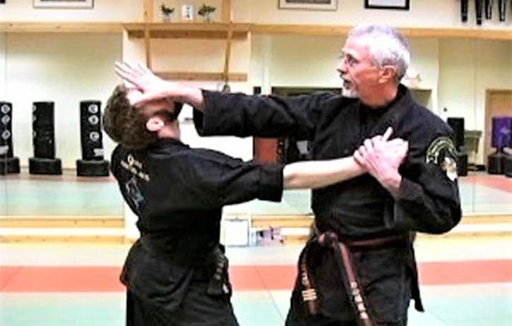 Taijutsu in action