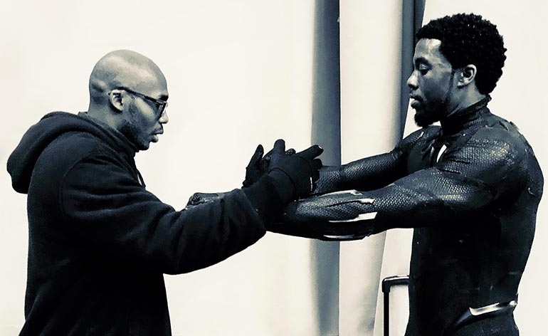 Training the Black Panther with Marrese Crump Kung Fu Kingdom 770x472 1