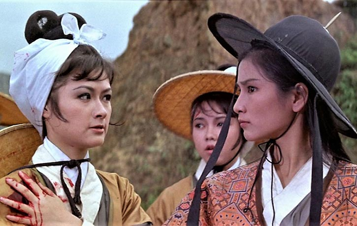 Aged just 20 years old Cheng Pei Pei is superb as Golden Swallow