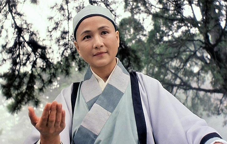 Cheng Pei pei plays Yim Wing Chuns martial arts master Mistress Wu Mei