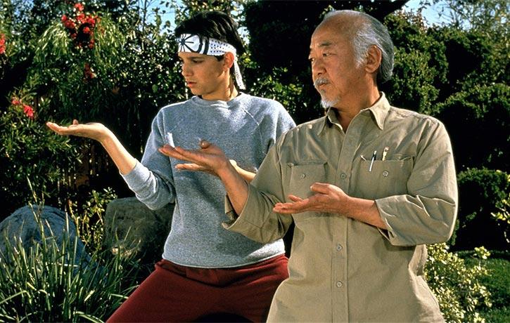 GAME OVER Time to unleash the Miyagi kata