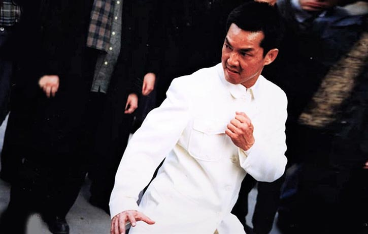 Its always a delight to see Yuen Biao in Fight Mode