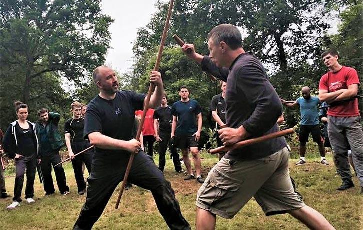 Teaching weapons at DKKs Summer School
