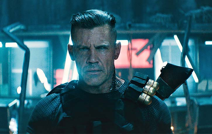 Cable arrives from the future to settle the score